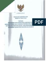 Pergub Riau Nomor 25 Tahun 2016 Tentang Hibah Bansos