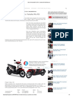 Adu Irit Honda BeAT ESP vs Yamaha Mio M3 Bluecore