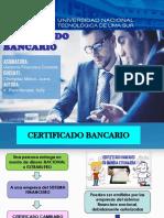 Certificado Bancario - Gc