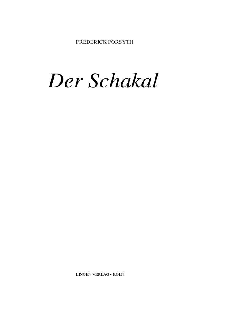 Forsyth Frederick Der Schakal