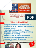 Disabilities With ER