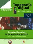 2016-11-26 Cartel Taller Iniciación Topografía