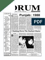 The Forum Gazette Vol. 4 No. 1 January 15-31, 1989
