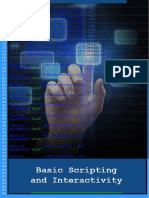 Basic Scripting and Interactivity