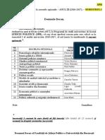 SPR Semestrul I Cerere Inscriere Optionale Sem. I 2016-2017