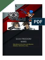 Guía Freedom Wars Para Armas Late Bloomer Modulos y Elementos