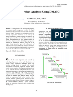 Casting Defect Analysis Using DMAIC