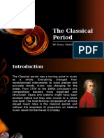 The Classical Period Final