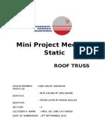 Mini Project Mechanic Static