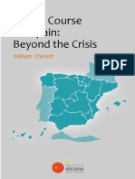 Chislett New Course for Spain Beyond Crisis