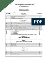IncomeTax Ordinance 2001TAmended Dec, 2016