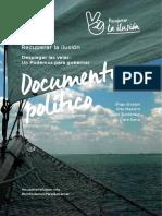 Documento político del equipo de Errejón