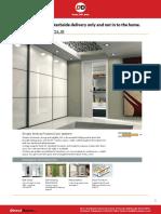 Dimensions Sgl Pocket Doors Scrigno System