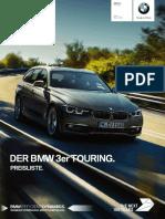 BMW 3er Touring Preisliste
