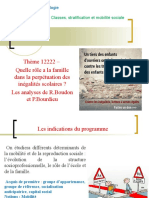 Thème 12222 Famille et mobilité sociale.ppt
