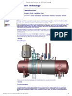 Deaerator, Boiler Feed Water Tank - EWT Water Technology
