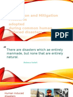 Disasters Prevention and Mitigation Measures