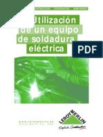Utilización de un Equipo de Soldadura Eléctrica.pdf