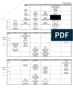 Class Sched