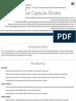 Internal Capsule Stroke | Stanford Medicine 25 | Stanford Medicine