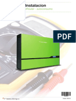 Manual Instalacion NEDAP Solar Baterias