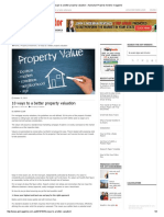 10 Ways to a Better Property Valuation - Australian Property Investor Magazine