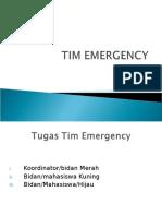 Tugas Tim Emergency