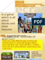 i Love Mincraft Powerpoint