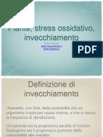 piante, stress ossidativo, inveccchiamento