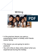 powerpoint writing