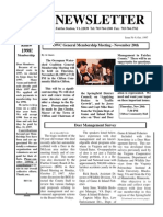 October 1997 Occoquan Watershed Coalition Newsletter