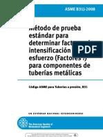 ASME B31J-2008 Spanish