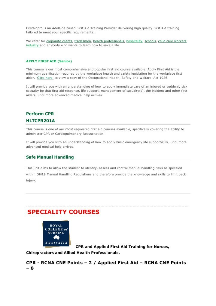5295603 Firstaidpro First Aid General Practitioner