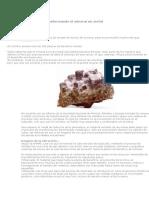 Transformando El Mineral en Metal