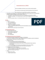 Communication de Crise - Notes de Cours