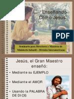 Enseñando como Jesus