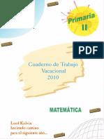 MATEMATICA PARA QUINTO DE PRIMARIA