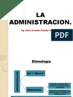 Sesion n 02 - La Administracion[1]
