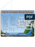 Take the Stormwater Runoff Challenge