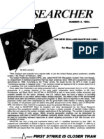 Peace Researcher Vol1 Issue04 1984