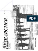 Peace Researcher Vol1 Issue11 1986