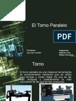 DIAPOSITIVA DE TORNO PARALELO