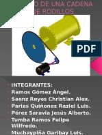 Cadenas DISEÑO DE ELEMENTOS DE MAQUINA