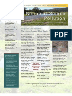 Non Point Source Pollution - A Series of Fact Sheets