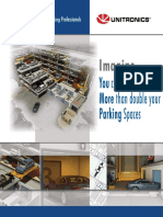 Soluciones Unitronics para estacionamientos verticales / Unitronics automated parking
