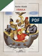 Alcalá Navarro, Xavier - Fábula (Galaxia, Col. Literaria 41, 198x)