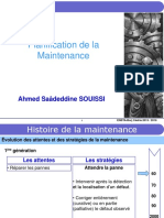 Planification de La Maintenance - ENSTAB Courseware