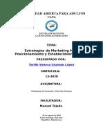 Estrategias de Marketing Mix Posicionamiento y Establecimiento Precio