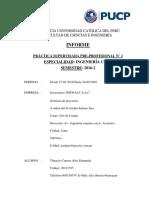 Informe Practica Preprofesionales