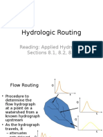 hydrologicrouting
